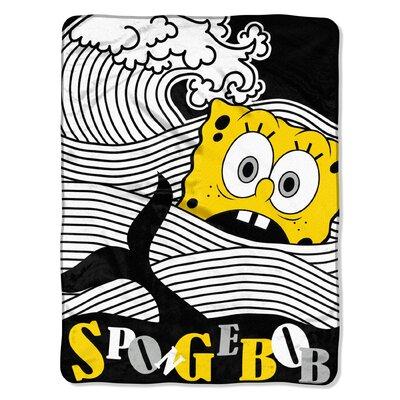 SpongeBob - Bob at Sea Polyester Throw