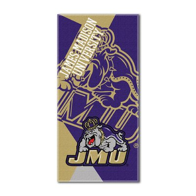 Collegiate James Madison Puzzle Beach Towel