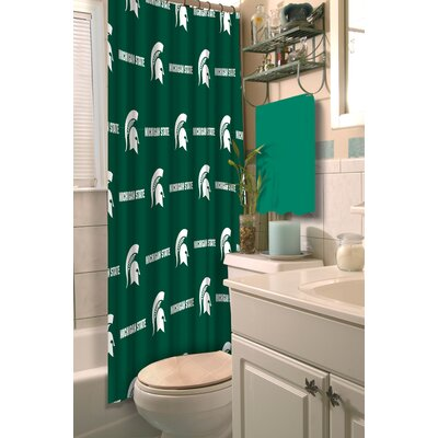 NCAA Shower Curtain NCAA Team: Michigan State University