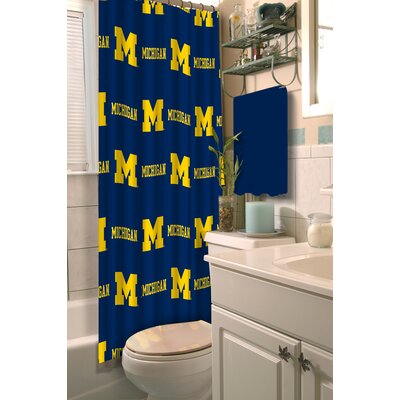 Collegiate Michigan Shower Curtain