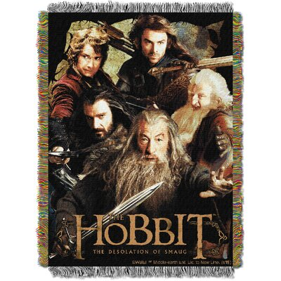 The Hobbit 2 - Fighting Company Woven Throw Blanket