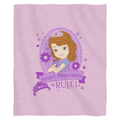 Sofia the First in Training Polyester Throw