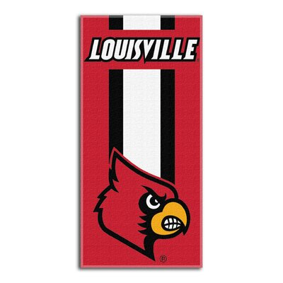 NCAA Zone Read Beach Towel NCAA Team: University of Louisville