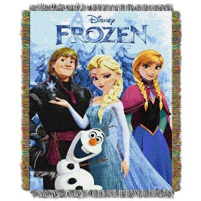 Disney Frozen Fun Tapestry Throw