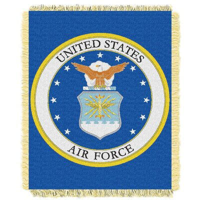 US Air Force Woven Throw