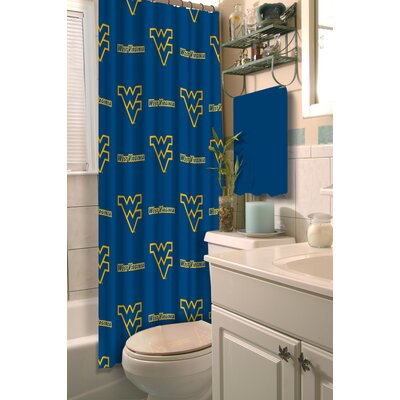 NCAA Shower Curtain NCAA Team: West Virginia University