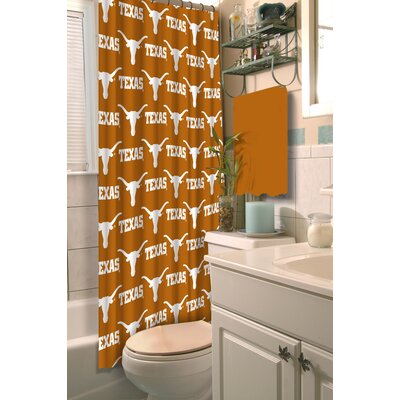 Collegiate Texas Shower Curtain