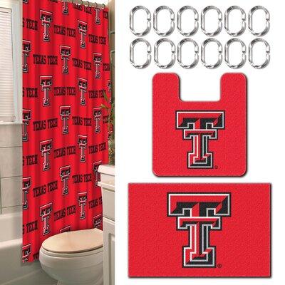 Collegiate Texas Tech 15 Piece Shower Curtain Set