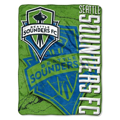 MLS Seattle Sounders Concrete Micro Polyester Raschel Throw