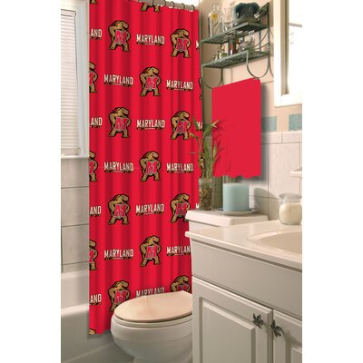 NCAA Shower Curtain NCAA Team: University of Maryland, College Park