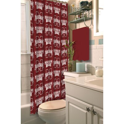 NCAA Shower Curtain NCAA Team: Mississippi State University