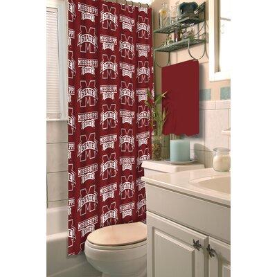 Collegiate Mississippi State Shower Curtain