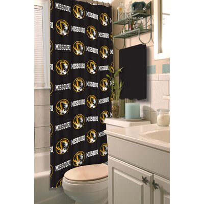 Collegiate Missouri Shower Curtain