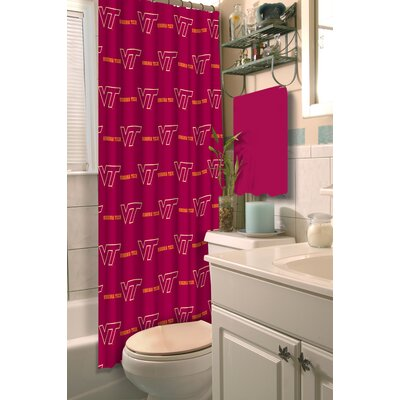 NCAA Shower Curtain NCAA Team: Virginia Tech