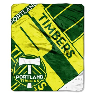 MLS Timbers Scramble Polyester Throw
