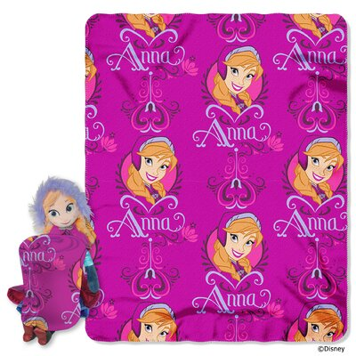 Frozen - Anna Polyester Fleece Throw