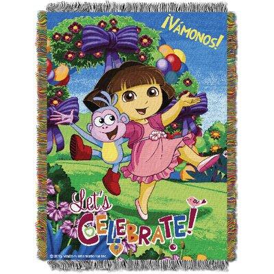 Dora - Celebrate Dora Tapestry Throw