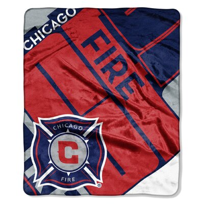 MLS Chicago Fire Scramble Polyester Throw