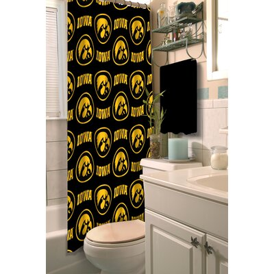 Collegiate Iowa Shower Curtain