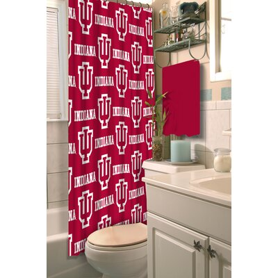 Collegiate Indiana Shower Curtain
