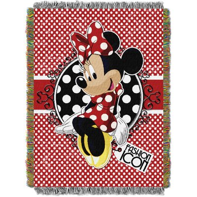 Minnie Bowtique - Forever Minnie Tapestry Throw