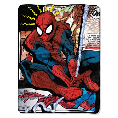 Ultimate Spider-Man - Spider Origins Polyester Throw