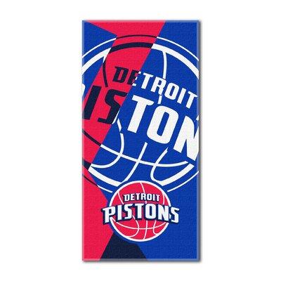NBA Pistons Puzzle Beach Towel