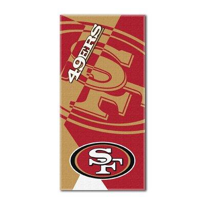 NFL 49Ers Puzzle Beach Towel