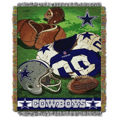 NFL Cowboys Vintage Tapestry Throw