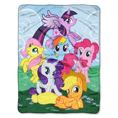My Little Pony - Best Friends Micro Polyester Raschel Throw