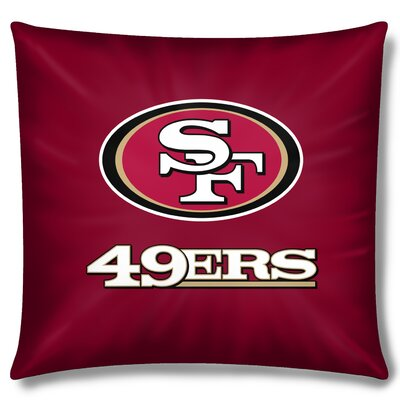 NFL 49Ers Cotton Throw Pillow