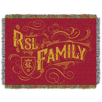 MLS Salt Lake Real Woven Throw Blanket