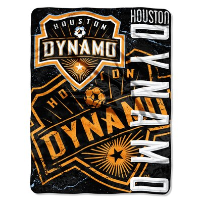 MLS Dynamo Dyncrete Micro Polyester Raschel Throw