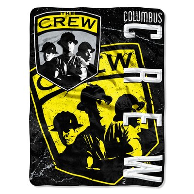 MLS Columbus Crew Concrete Micro Polyester Raschel Throw