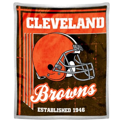 NFL Browns Old School Throw