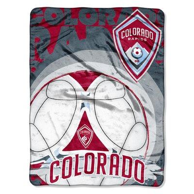 MLS Rapids Techno Micro Polyester Raschel Throw