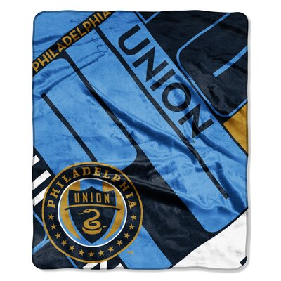 MLS Union Scramble Scramble Polyester Throw