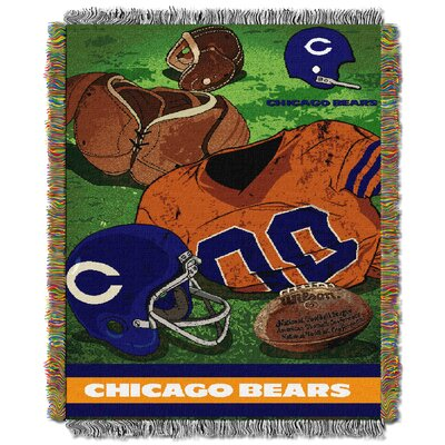 NFL Bears Vintage Tapestry Throw