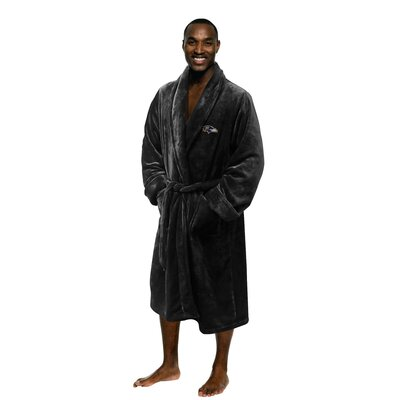 NFL Ravens Mens Bathrobe Size: Large/Extra Large