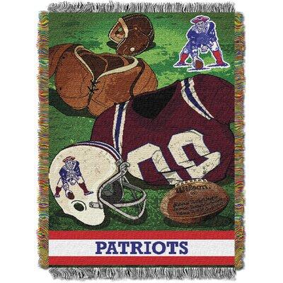 NFL Patriots Vintage Tapestry Throw