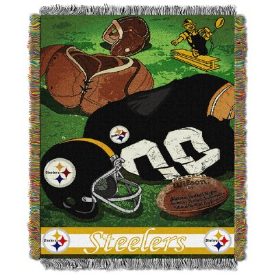 NFL Steelers Vintage Tapestry Throw