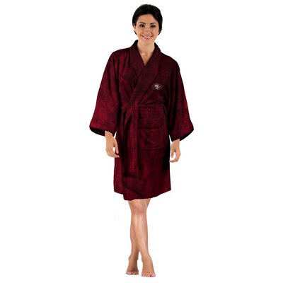 NFL 49Ers Womens Bathrobe