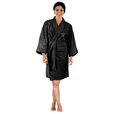 NFL Raiders Womens Bathrobe