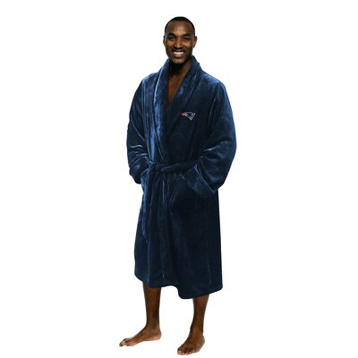 NFL Patriots Mens Bathrobe Size: Large/Extra Large