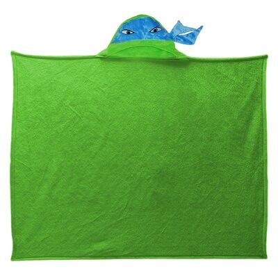 Nickelodeon TMNT Hooded Ninja Polyester Fleece Throw