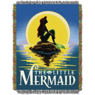 Ariel - Little Mermaid Poster Tapestry Throw