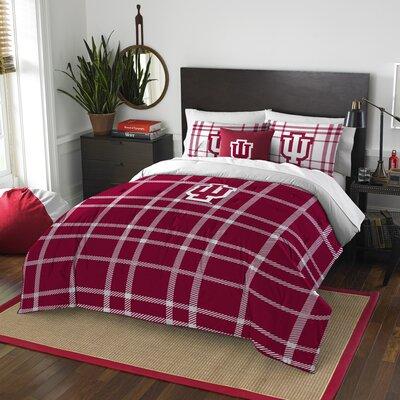 Collegiate Indiana Comforter Set Size: Full