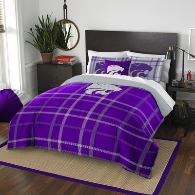Collegiate Kansas State Comforter Set Size: Full