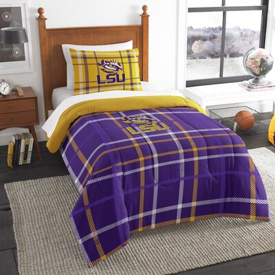 Collegiate LSU Comforter Set Size: Twin