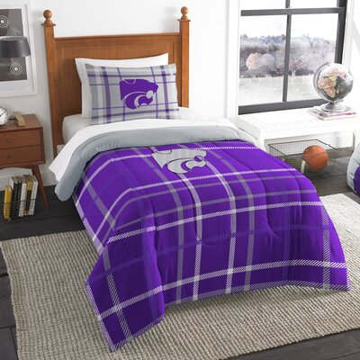 Collegiate Kansas State Comforter Set Size: Twin
